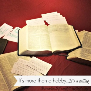 more than a hobby